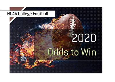 The odds for the 2020 College Football Championship.