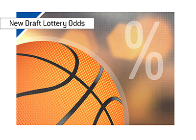 There are new draft lottery rules in place in American professional basketball.