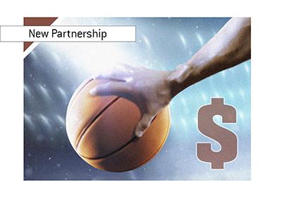 NBA and Betstars form new partnership.  Year is 2018.