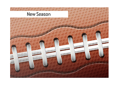 The new NFL season schedule has been announced.