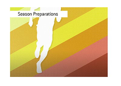 The training camps for the new North American sports season are starting.
