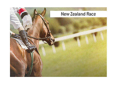 New Zealand hosts a prestigeous annual horse race, which takes place in January of every year.  When placing wagers on races stay within your budget.