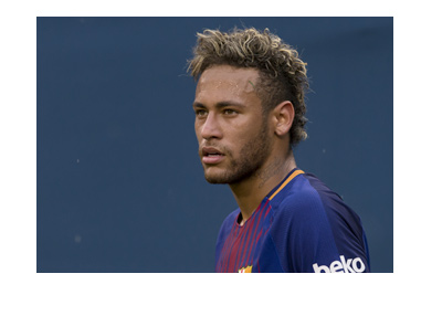 Neymar wearing the Barcelona FC shirt for the last time? - July 2017. United States of America.  Friendly.