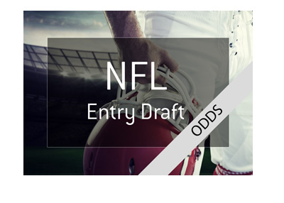 The National Football League - 2018 Entry Draft - Odds.