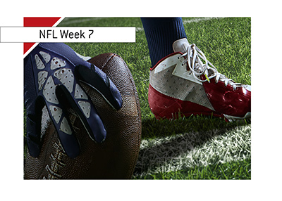 Image to accompany the article about the NFL Week 7 Preview - Year is 2018 - Bet on it!