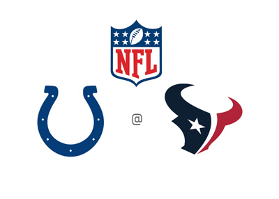 NFL - Indianapolis Colts vs. Houston Texans - Matchup - National Football League - Team logos, preview