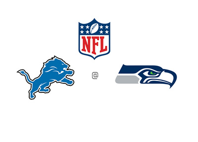 National Football League - Detroit Lions vs. Seattle Seahawks - Matchup and odds