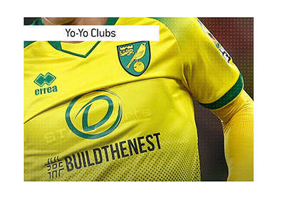 Norwich City - The team which keeps getting promoted and relegated from the English Premier League.