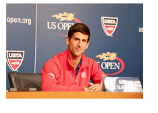 Novak Djokovic - US Open - Press Conference