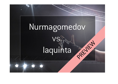 UFC 223 - Khabib Nurmagomedov vs. Al Iaquinta - Mixed Martial Arts fight odds - Favourite to win.