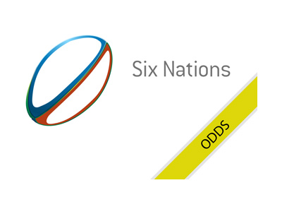 The poster for betting odds - Six Nations Cup - Rugby