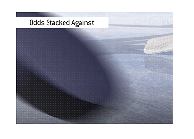 The professional hockey finals - Odds are stacked against the underdog three games in.