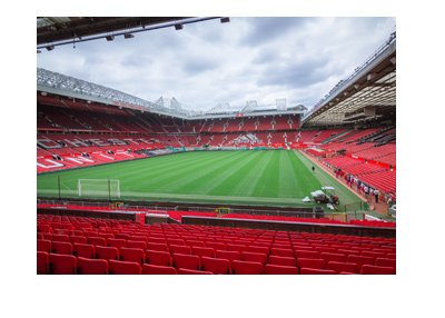 The Old Trafford Stadium - Empty stands.  New season is upon us.