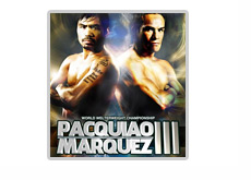Manny Pac Man Pacquiao vs. Juan Manuel Marquez III - MGM Grand in Las Vegas - Poster small