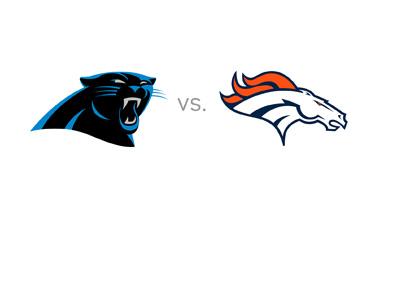 Carolina Panthers visit Denver Broncos - Year 2016 - Team logos - Matchup