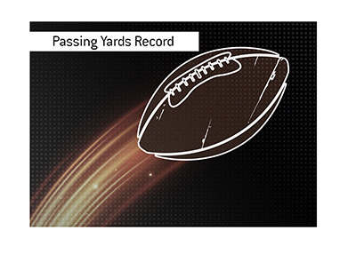 The record for most passing yards in the NFL game dates back 50 years.