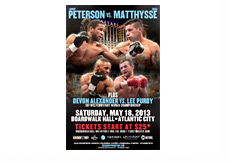 Lucas Martin Matthysse vs Lamont Peterson - Event Poster - May 18th, 2013