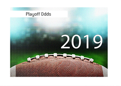 Playoff Odds for the 2019 NFL season.