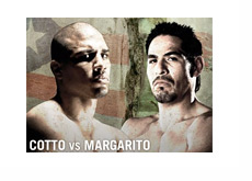 Cotto vs. Margarito event poster