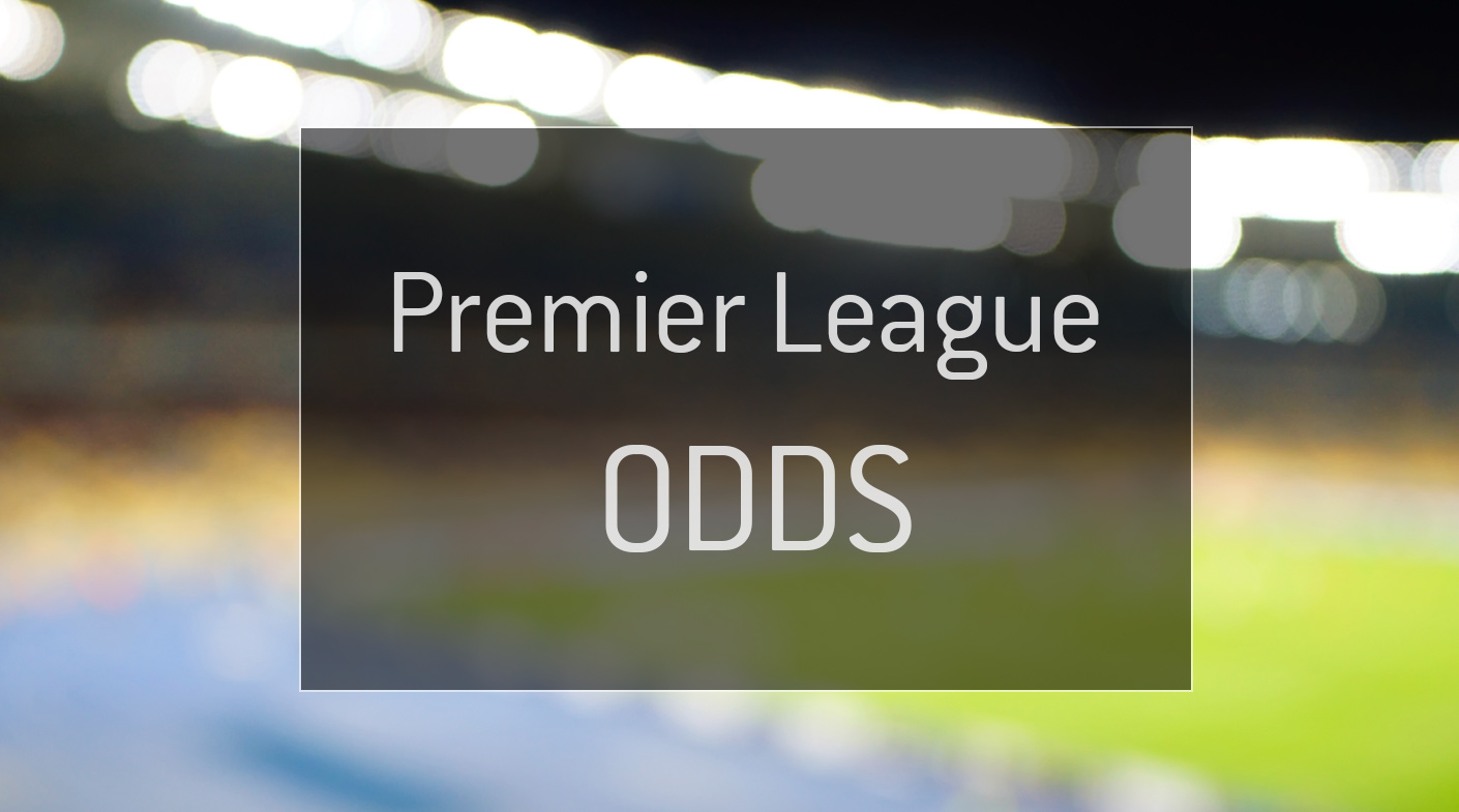 The graphic illustration the Odds for the English Premier League.