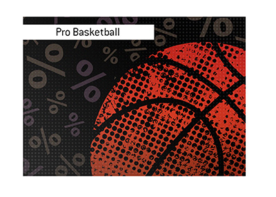 The pro basketball playoffs are here.