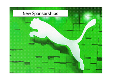 German sports brand Puma is extending its reach with several big European sponsorship deals.