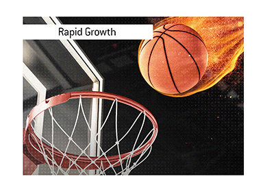 The sportsbetting industry in the United States is experiencing rapid growth.