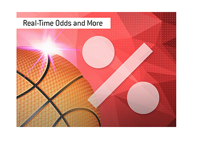 A new basketball channel is introduced featuring live odds commentary.