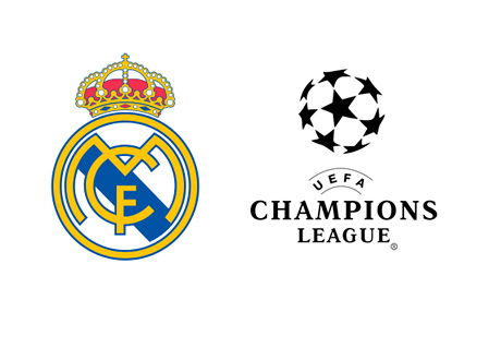 Real Madrid and UEFA Champions League - Logos
