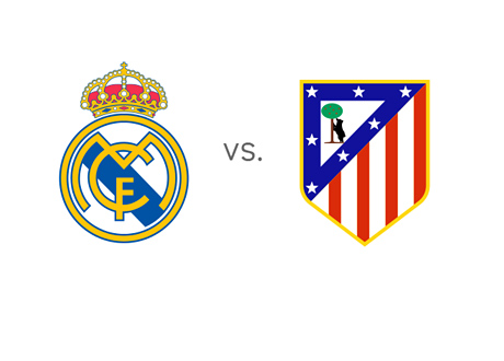 Real Madrid vs. Atletico Madrid - Spanish Super Cup 2014 - Team Logos
