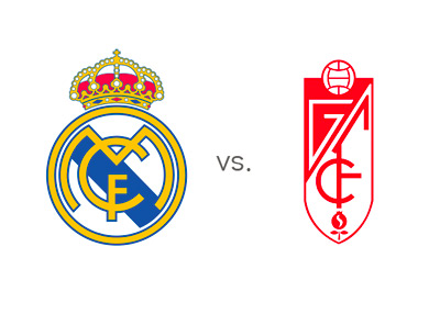Real Madrid vs. Granada - Matchup - Team Logos - Odds - Preview