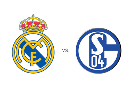 Real Madrid vs. Schalke - Matchup - Odds - Head to Head - Team Logos / Crests / Badges
