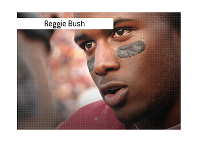 Reggie Bush while playing at the University of Southern California.
