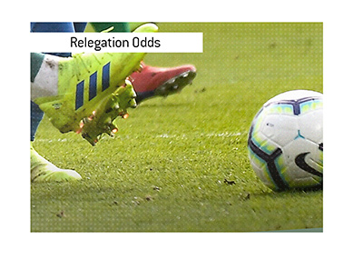 Relegation in the England Premiership is a very popular bet.