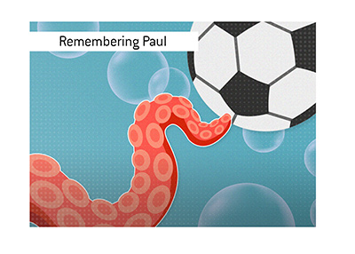 Remembering Paul the Octopus, the legendary animal who predicted soccer scores.