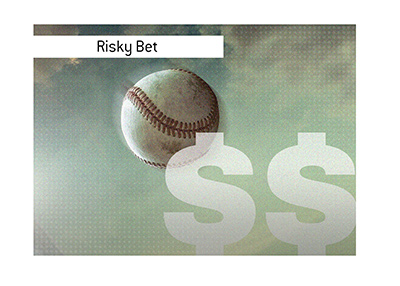 Risky baseball bet is being considered by a Houston businessman.