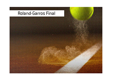 The 2019 French Open final is taking place soon.  Bet on it!
