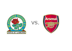 Matchup - Blackburn Rovers vs. Arsenal Gunners - Team logos