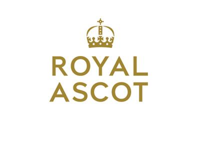 The Royal Ascot logo - The 2016 version - Gold
