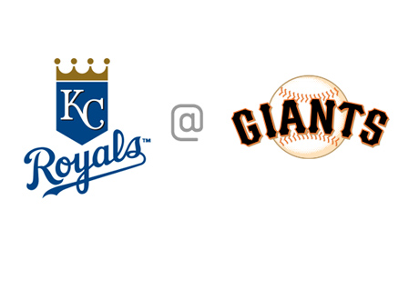 Kansas City Royals vs. San Francisco Giants - Matchup - Team Logos
