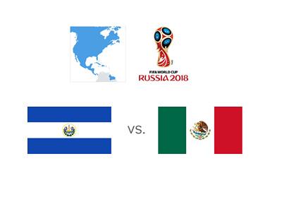 Russia 2018 World Cup Qualifiers - North America - El Salvador vs. Mexico
