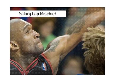 Joe Smith and the NBA salary cap mischief story.