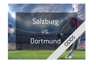 FC Salzburg Red Bull vs. Borussia Dortmund - Europa League match preview and odds.