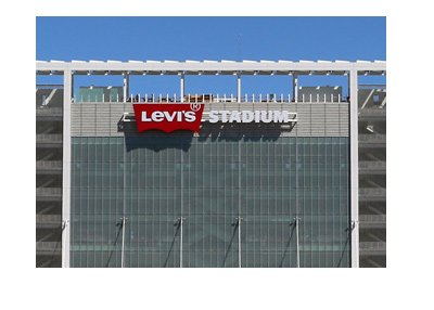 Levis Stadium, the home of San Francisco 49ers, the NFL team.