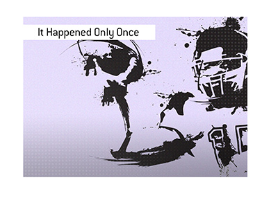 It only happened once.  Scoreless game in the NFL.  Illustration.