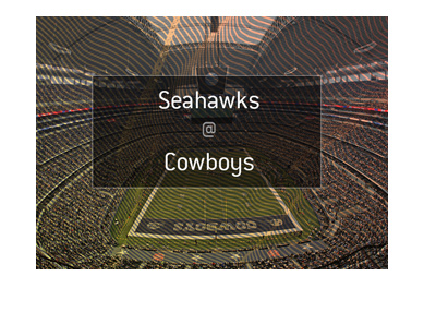 Dallas Cowboys are hosting Seattle Seahawks in a football match.  Odds and preview.
