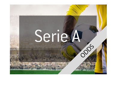 Italian Serie A - Betting odds - Featuring a goalie in the photo - Year is 2018.