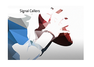 Some of the signal callers from the past were in a category of their own.