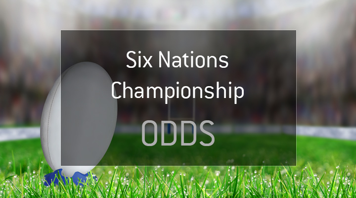 The Six Nations Championship Odds - Graphic presentation - Rugby - Stadium.