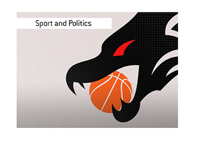 Politics and sport mix.  Basketball and China are in the spotlight.